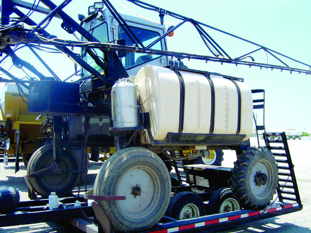 Preparing Spray Equipment for Winter Storage and Spring